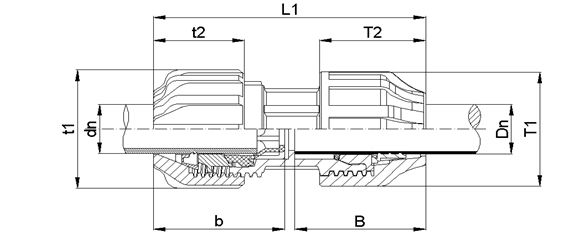 mdpe - universal transition couplings
