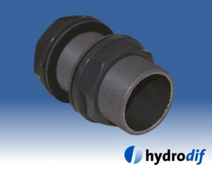 Tank Connector H-PVC