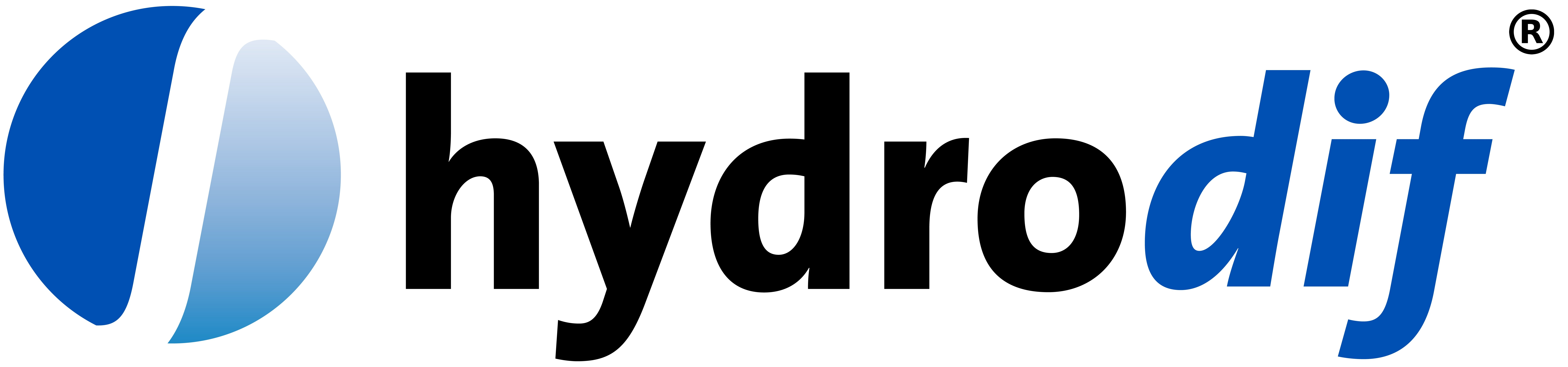 Hydrodif Logo Registered Trademarked