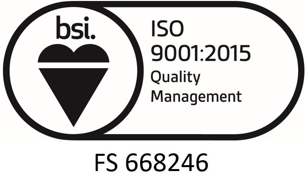 ISO 9001 with Certificate Number