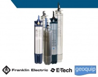 6 inch Franklin Electric E-tech Encapsulated Submersible Motors