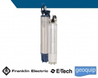 8 inch Franklin Electric E-tech Encapsulated HiTemp 75dc Submersible Motors