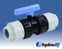 Hydrodif PP Compression Valves