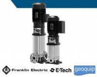 EV Vertical Multistage Pumps E-tech Franklin Electric