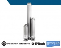 4 inch Franklin Electric E-tech Submersible pumps