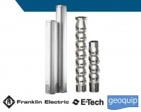 8 inch Franklin Electric E-tech Submersible pumps