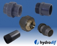 Hydrodif PVC Metric & Imperial Mixed Pipe Fittings