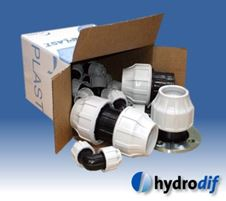 hydrodif compression pipe fittings