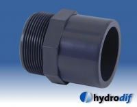 PVC - Metric Solvent Cement Mixed Fittings