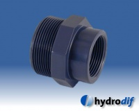 Hydrodif PVC Threaded Fittings