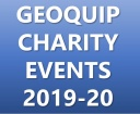 GEOQUIP CHARITY EVENTS 2019-2020