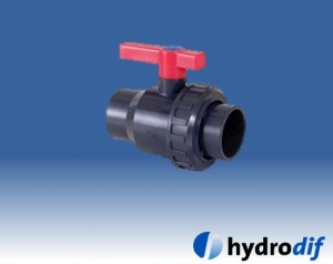PVC Single Union Ball Valves (Metric)