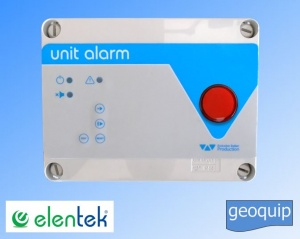 Unit Alarm Control Panel Visual