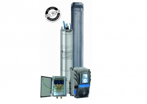 High Efficiency Pump System 6 inch E-tech Franklin Electric