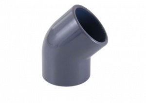 45º Elbow for PVC Imperial Pipe