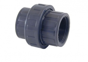 3 Piece Union for PVC Metric Pipe