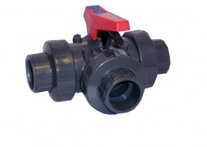 Three Way Ball Valve (T-Port) Imperial