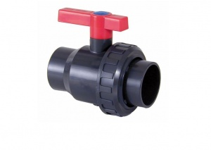 PVC Single Union Ball Valves (Imperial)