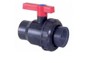 PVC Single Union Ball Valve Threaded