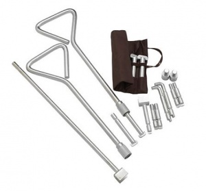 Universal Manhole Cover Key Kit