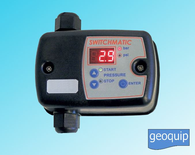 Switchmatic Electronic Pressure Switch 1 - Geoquip Water Solutions