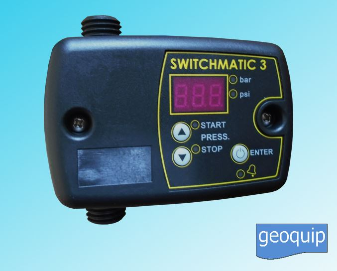 Switchmatic Electronic Pressure Switch 3 - Geoquip Water Solutions