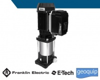 Frankliln Electric E-tech EM DTm Vertical close-coupled multistage pumps with Drive-tech MINI
