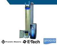 High Efficiency Pump System 8 inch E-tech Franklin Electric
