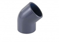 45º Elbow for PVC Metric Pipe