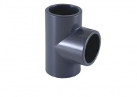 90º Tee for PVC Metric Pipe