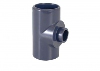90º Reducing Tee for PVC Metric Pipe
