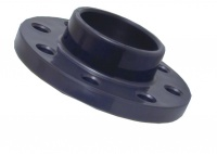 Full Face Fixed Flange for PVC metric pipe