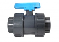 PVC Threaded Double Union Ball Valves