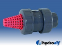 PVC Threaded Foot Valve