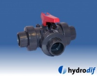 Three Way Ball Valve (T-Port) Metric