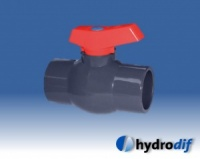 PVC Threaded Compact Series Valve (Imperial)